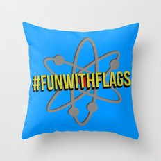 Fun With Flags Throw Pillow