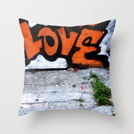 Street Love Throw Pillow