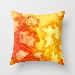Surface of the Sun Throw Pillow