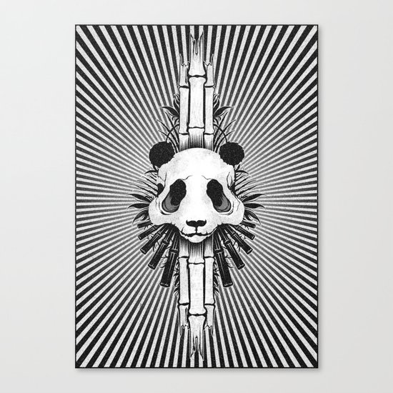 Bamboo Bones Canvas Print