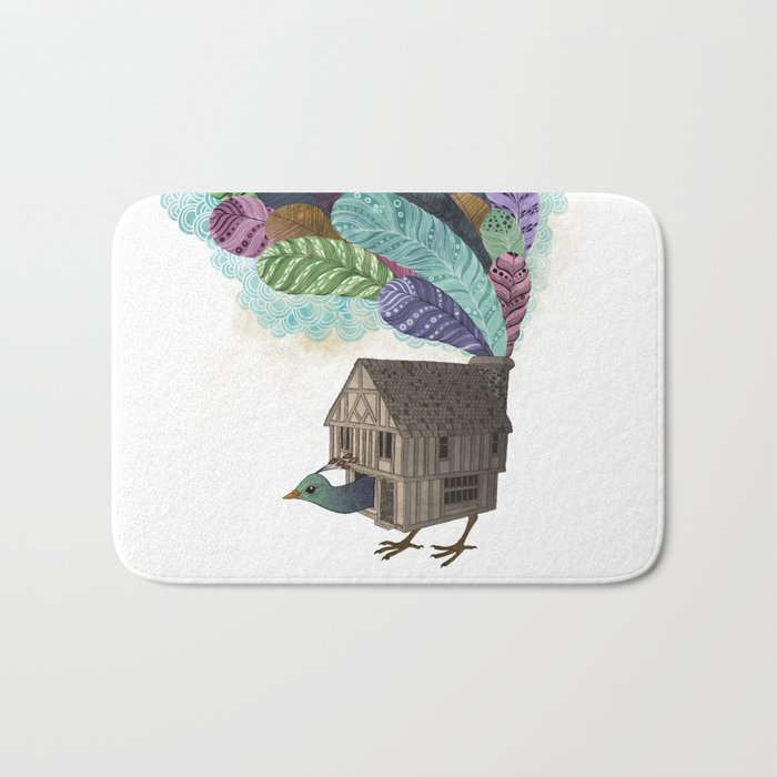 birdhouse revisited Bath Mat