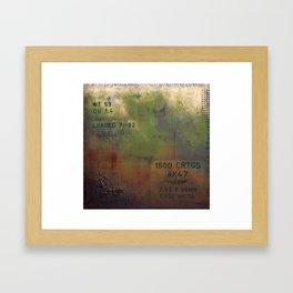 AK47 Framed Art Print