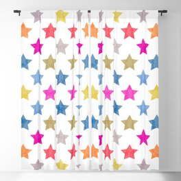 Colorful Star III Blackout Curtain