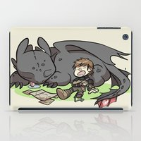 hiccup iPad Cases featuring Sleepy Buddies by comickergirl