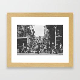 China Town SF Framed Art Print