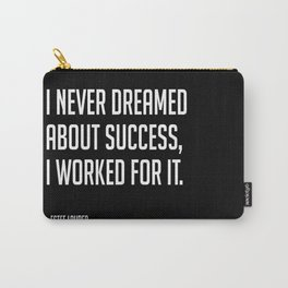 Work for it // Estee Lauder Carry-All Pouch