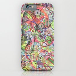 Basura Cerebro iPhone Case