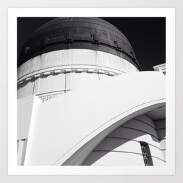 Griffith Observatory Art Print