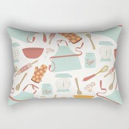 Vintage Kitchen Rectangular Pillow