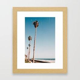 Butterfly Beach Framed Art Print