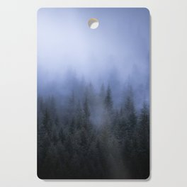 Foggy Forest Cutting Board