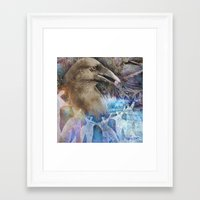 fairy tale Framed Art Prints featuring Fairy Tale by Visionary Imagery