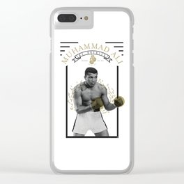 Huhammad Ali - The Greatest Clear iPhone Case