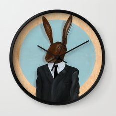 David Lynch | Rabbit Wall Clock