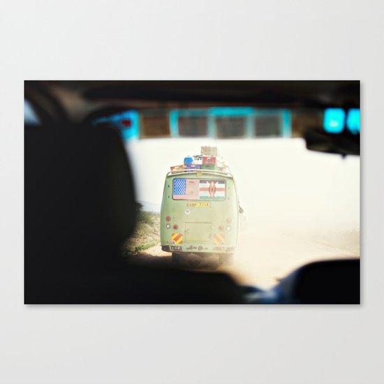 on the road::kenya Canvas Print