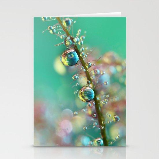 Smokey Rainbow Drops Stationery Cards