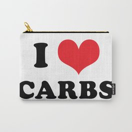 I (heart) CARBS Carry-All Pouch