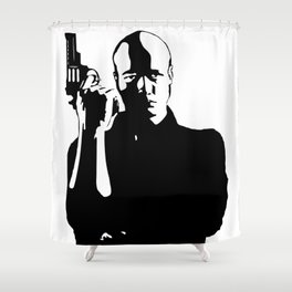 Gunman Shower Curtain