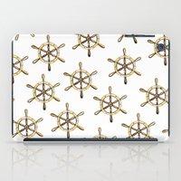 nautical iPad Cases featuring Nautical by kristinesarleyart