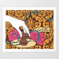 macarons 04 Art Print