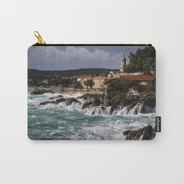 High Waves at Sea Carry-All Pouch