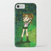 sailor jupiter iPhone & iPod Cases featuring Sailor Jupiter by Thedustyphoenix