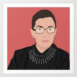 Ruth Bader Ginsburg | Bad Ass Women Series Kunstdrucke