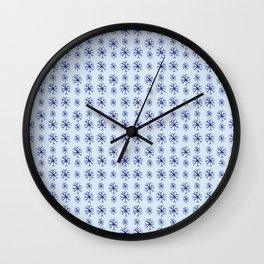 snowflake 2 Wall Clock