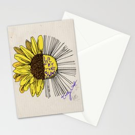 Live By the Sun Stationery Cards