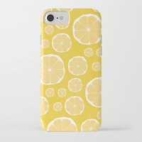 lemon iPhone & iPod Cases featuring Lemon by Make-Ready