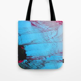 MEMORY MOSH - Glitch Art Print Tote Bag