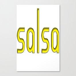Salsa AB FatChic Canvas Print