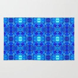 Pattern 50 - Blue plastic recycling bottles Rug