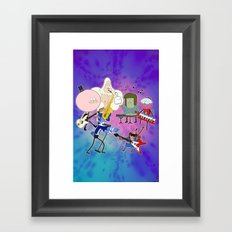 Party Tonight Framed Art Print