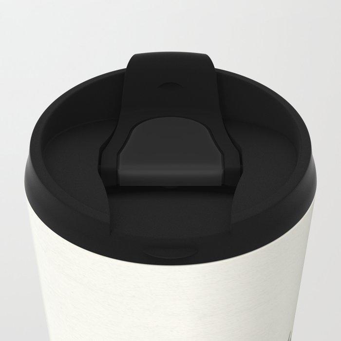 African Milk Barrel Metal Travel Mug