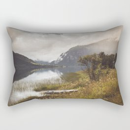 Light in Norway Rectangular Pillow