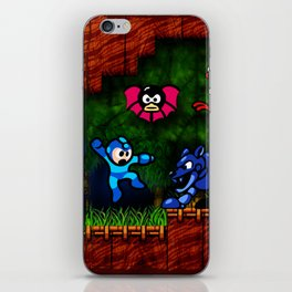 Megaman Woodman iPhone Skin