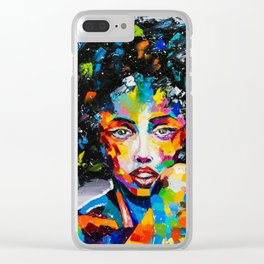 EXOTIC GIRL Clear iPhone Case
