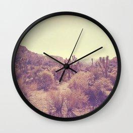 Joshua Tree photo. No. 357 Wall Clock