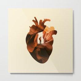 Heart Explorer Metal Print