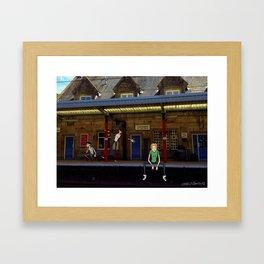 Euro Tour 3 Framed Art Print