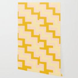 Chevron diagonal 90s Wallpaper