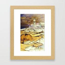 Brentons Lighthouse Ipod Cover by Ave Hurley Framed Art Print