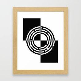 The Maze - Alternate Framed Art Print
