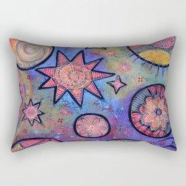 Celestial Stars - Sending Love and Healing Light  Rectangular Pillow