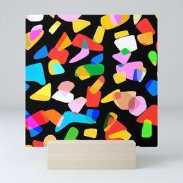 so many shapes Mini Art Print