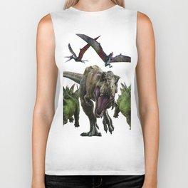 dinosaurs Biker Tank