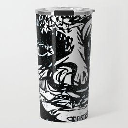 Face creature Travel Mug