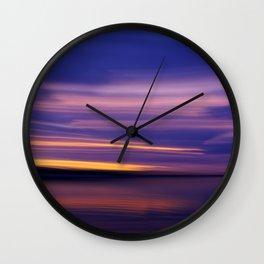 sky motion Wall Clock