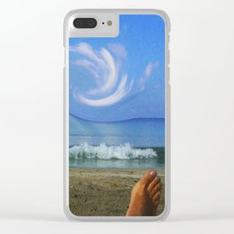 Tricks of the Mind Clear iPhone Case
